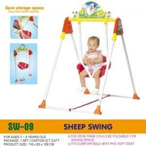 تاب کودک مدل گوسفند chingching کد sw-09