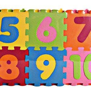 کفپوش (تاتامی) اعداد  لاتین (لی لی) (10عددی)