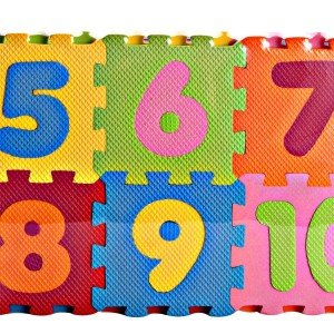 کفپوش اعداد لاتین 10 عددی