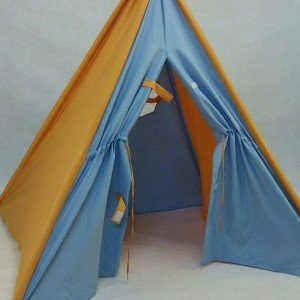 چادرک چهار ضلعی پنجره دار رنگي choobin
