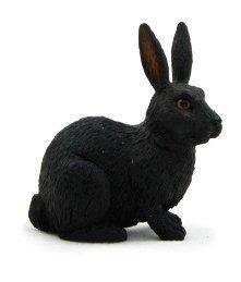 فیگور خرگوش مشکی mojo کد 387029
