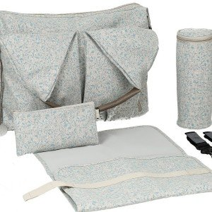 کیف 4 تکه لوازم نوزاد lassig مدل Neckline Bag رنگ Allover Fleur کد LNB606174