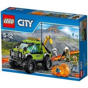 لگو Volcano Exploration Truck کد 60121