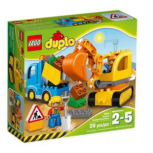 لگو Truck & Tracked Excavator کد 10812