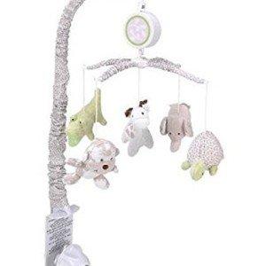 آویز تخت  کودک coala baby طرح حیوانات کرم