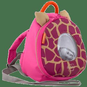 کیف لوازم نوزاد با غلاف pacapod مدل Changer Toy Pod رنگ giraffe pink کد 0202
