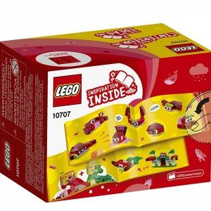 red creativity box lego 10707