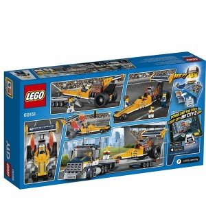 Dragster Transporter  lego 60151