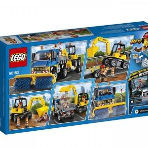 Sweeper And Excavator lego 60152