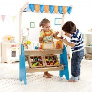 ست سوپر مارکت کودک برندMarket Checkout hape کد 3120