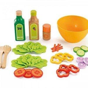 ست سالاد چوبی کودک برندGarden Salad hape کد 3116
