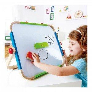 تخته دو طرفه رو میزی کودک Anywhere Art Studio hape کدE1009