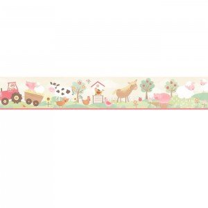 بوردر کاغذ دیواری اتاق کودک - tiny tots 90117