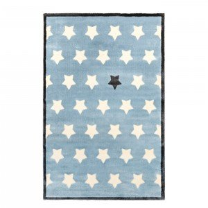 فرش اتاق کودک saint clair طرح ستاره آبی کد 90115020