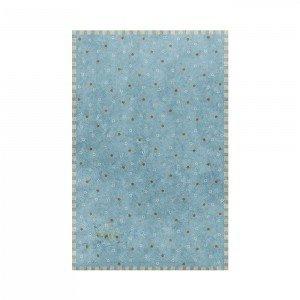 فرش اتاق کودک saint clair طرح ستاره های درخشان آبی کد 90115014