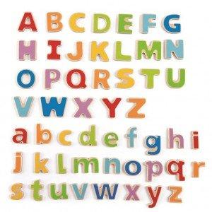 حروف مگنتی چوبی کودک ABC magnetic hape 1047