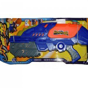 تفنگ آب پاش Hydro Power رنگ آبی و نارنجی