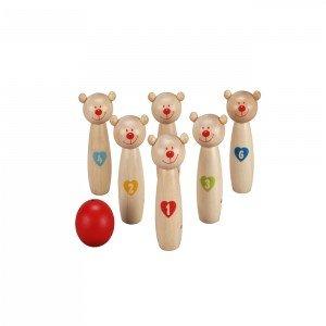بولینگ خرس کوچولو چوبی Classic World مدل Little Bear 4125