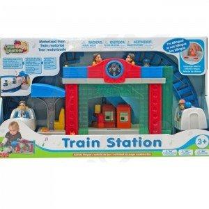 ایستگاه قطار بزرگ موزیکال keenway مدل train station 3966