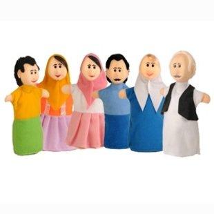 پاپت دستی اعضاي خانوادهpic-9022