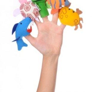 عروسک انگشتی حیوانات دریاییPIC-9039