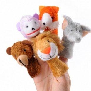عروسک انگشتی حیوانات وحشیPIC-9043