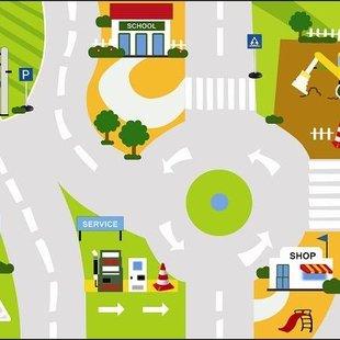 کفی آموزش قوانین راهنمایی و رانندگی