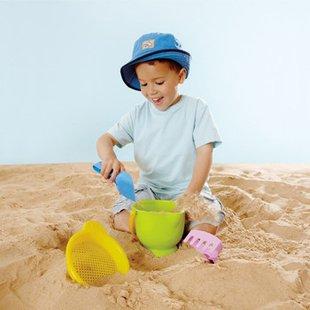 ابزار شن بازی کودکbeach basies hape 4001