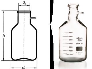 بطری خلاء 5lit  برو سیلیکات