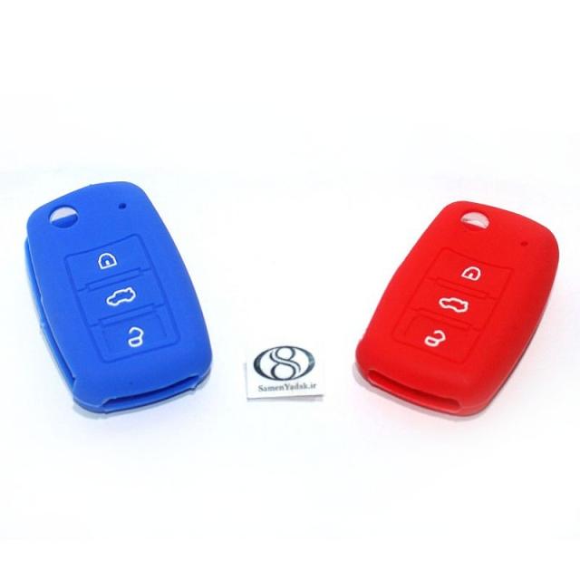 قاب ژله ای پژو و سمند 3 کلید