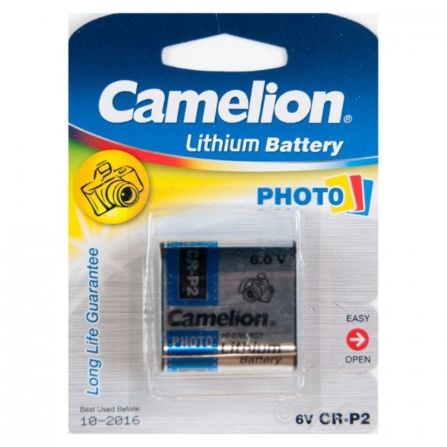 باتری لیتیوم CR-P2