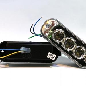 LED داخل سپر پراید