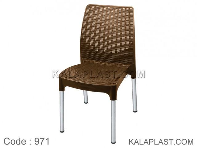 صندلی بدون دسته پایه فلزی نوین کد 971