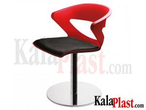 صندلی پایه گرد چدنی کیکا کد P870