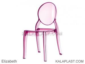 صندلی پلی کربنات الیزابت