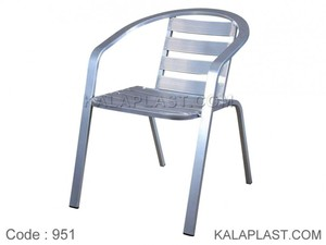 صندلی دسته دار تمام آلومینیوم کد 951