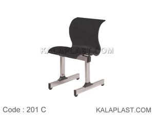 صندلی انتظار 1 نفره پروفیلی کد 201C