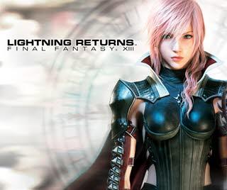 کاور و لیبل دیسک بازی Lightning Returns: Final Fantasy XIII