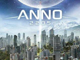 کاور و لیبل دیسک بازی Anno 2205