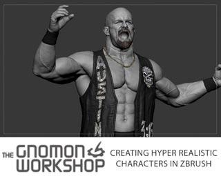 دانلود فیلم آموزش Creating Hyper Realistic Characters in ZBrush