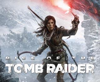 کاور و لیبل دیسک بازی Rise of the Tomb Raider