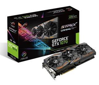 بررسی کارت گرافیک ASUS ROG GeForce GTX 1070 STRIX