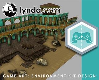 دانلود فیلم آموزش Game Art: Environment Kit Design