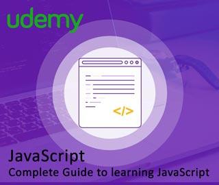 دانلود فیلم آموزش JavaScript Complete Guide to learning JavaScript