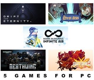 دانلود بازی های The Little Acre ، Drift Into Eternity ، GUILTY GEAR Xrd REVELATOR ، Space Hulk: Deathwing و Infinite Air with Mark McMorris