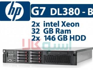 سرور  اچ پی HP G7 DL380-B دست دوم