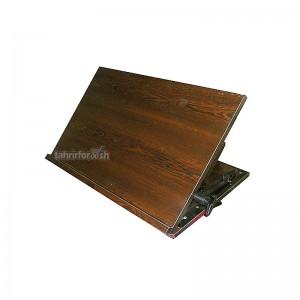 کتابیار چوبی طرح کلاسیک