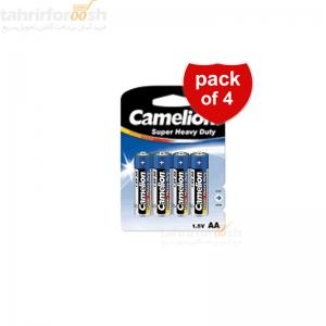باطری قلمی camelion بسته 4 عددی